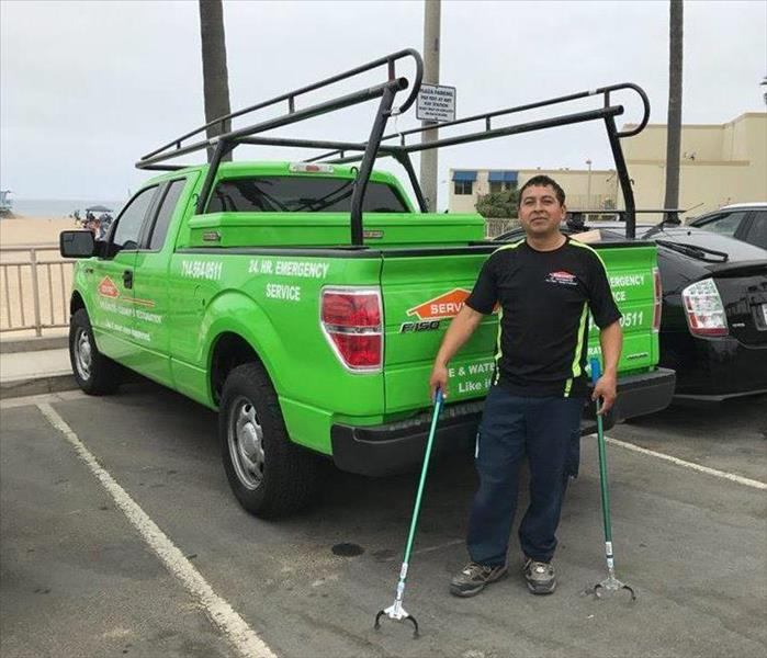 Some help from Westminster SERVPRO at Surf Rider Beach Cleanup 2017